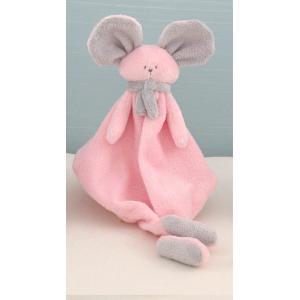 Dimpel - 822380 - Mona souris doudou - rose et gris-clair (199845)