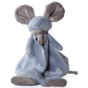 Dimpel - 822536 - Doudou souris Mona bleu & beige gris (199857)