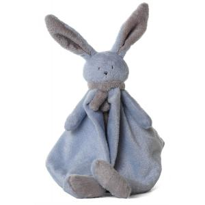 Dimpel - 822848 - Nina doudou lapin - bleu et beige-gris (199897)