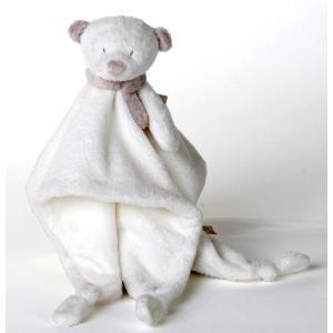 Dimpel - 882557 - Noann doudou ours  - blanc (199919)