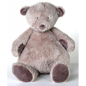 Dimpel - 882609 - Noann doudou ours 20 cm - beige-gris (199923)