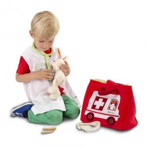 Lilliputiens - 86520 - Panoplie L'ambulance du petit docteur (206886)
