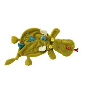 Lilliputiens - 86389 - Doudou marionnette Walter le dragon (206902)
