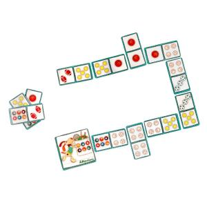 Lilliputiens - 86431 - Domino Jef le chien (212604)