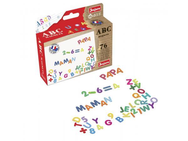 Magnets abc et chiffres - coffret de 76 caractères