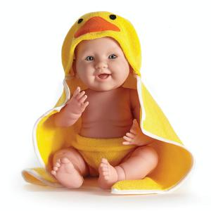 Berenguer - 18005 - Poupon Newborn nouveau né sexué garçon avec serviette 43 cm (221124)