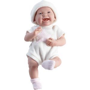 Berenguer - 18051 - Poupon Newborn nouveau né sexué fille tenue blanche 38 cm (221128)