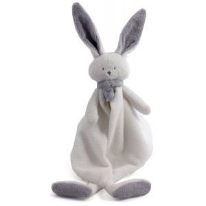 Dimpel - 822770 - Nina doudou lapin - blanc et gris-clair (225188)