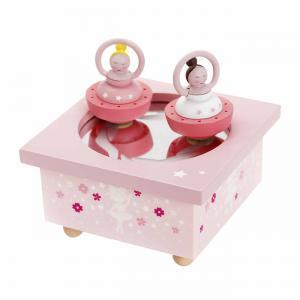 Trousselier - S95025 - Boite à Musique Dancing Ballerine Rose (225324)