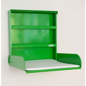 byBo Design - 90628 - Table à langer murale Fifi, matelas bio inclus vert (257016)