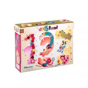 Lilliputiens - 86433 - 123 puzzle des chiffres (259246)