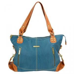 Timi and Leslie - TL_232_01TL - timi & leslie Kate Dark Teal/Saddle Sac à Langer (261660)