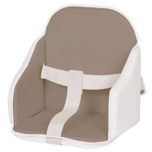 Candide - 193260 - Coussin de chaise pvc taupe/blanc avec anse et nouveau pack (262746)