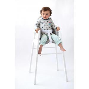 Candide - 193261 - Coussin de chaise pvc gris/blanc avec anse et nouveau pack (262748)