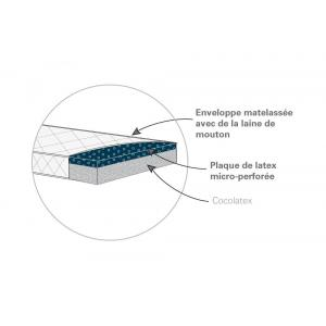 Candide - 482655 - Matelas Organic Coco 70x140x11 cm (262808)