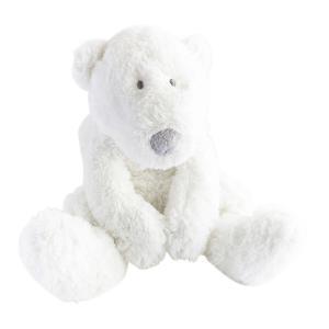 Dimpel - 883116 - Peluche ours polaire bébé P'timo 22 cm blanc (264722)