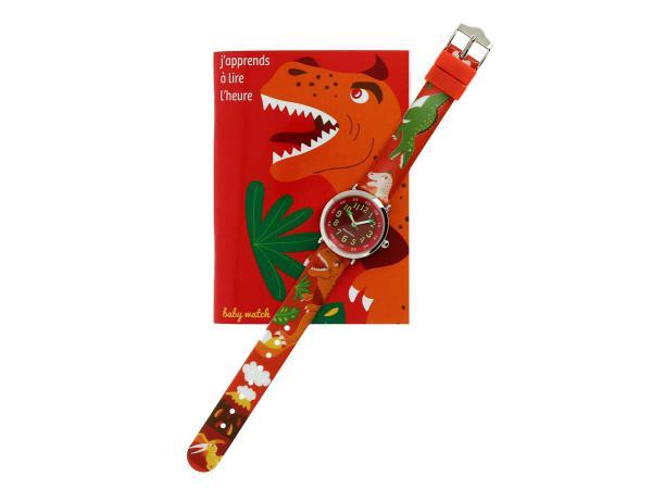 Coffret bon-heur pour apprendre à lire l'heure 7-9 ans dinosaure