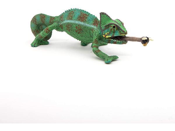 Figurine caméléon