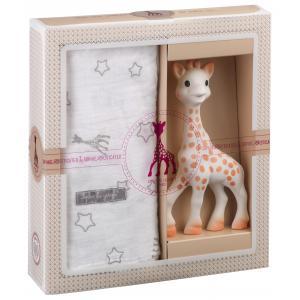 Vulli - 000004 - Création tendresse - composition 2 (Sophie la girafe + Lange 120 x 120 cm) (272462)