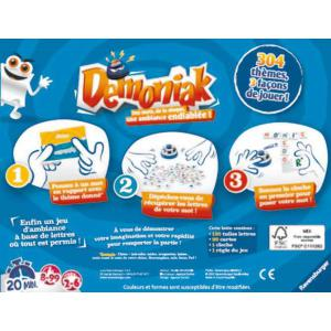 Ravensburger - 26660 - Jeux de société famille - Jeux d'ambiance -Démoniak (273410)