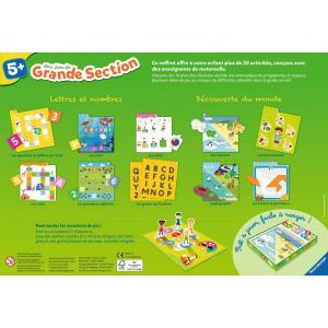 Ravensburger - 24524 - Jeux éducatifs - Mes jeux de grande section - 5 ans + (273658)