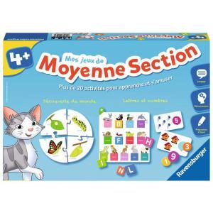 Ravensburger - 24523 - Jeux éducatifs - Mes jeux de moyenne section - 4 ans + (273660)