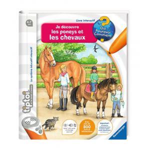 Ravensburger - 00647 - Jeux éducatifs Tiptoi - Je découvre les poneys et les chevaux (273676)