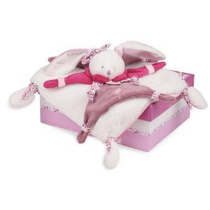Doudou et compagnie - DC2703 - Cerise - doudou - 27 cm - boîte cadeau (273884)