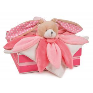 Doudou et compagnie - DC2791 - Collector  - doudou - lapin rose - taille 28 cm (274002)