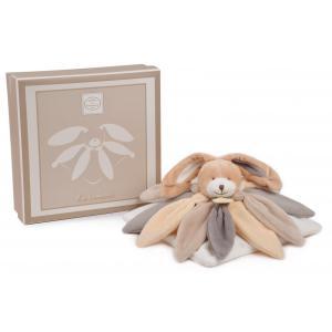 Doudou et compagnie - DC2792 - Collector - doudou - lapin taupe - 28 cm - boîte cadeau (274004)