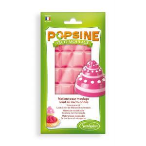 Sentosphère - 2607 - Recharge éco-moulage Popsine rose bonbon 110 g (274280)