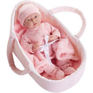 Berenguer - 18785 - Poupon Newborn nouveau né avec couverture et panier 39 cm (274298)