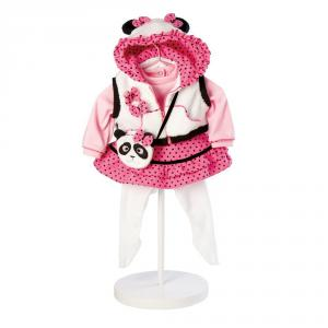 Adora - 20920841 - Tenue pour bébé panda 51 cm (275680)