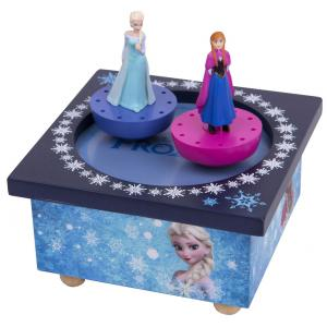 Trousselier - S95430 - Boite à Musique Magnetique Elsa & Ana - La Reine des Neiges (275760)