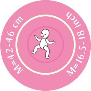 Gotz - 3402472 - Tenue ballerine bébé 42-46cm (277820)