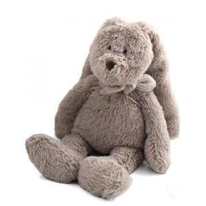 Dimpel - 883402 - Doudou lapin Flor 18 cm - beige-gris (287682)