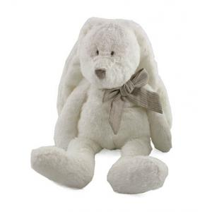 Dimpel - 883506 - Doudou lapin Flor 18 cm - blanc (287694)