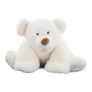 Histoire d'ours - HO2532 - Collection Les Ours - PAT'OURS 90 cm - Blanc (302870)