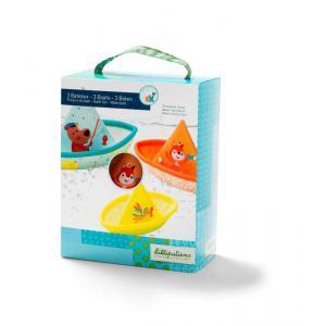 Lilliputiens - 86772 - 3 petits bateaux (305318)