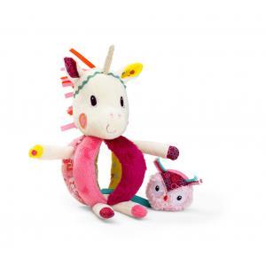 Lilliputiens - 86788 - Hochet à poignée Louise la licorne (305342)