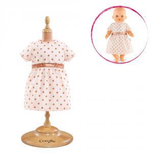 Corolle - DMV07 - Bb36 robe dorée rose - taille 36 cm à partir de 3+ (305462)