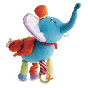 Doudou et compagnie - DC3009 - Pantin elephant et ses multiples activités (305810)