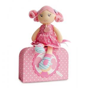 Doudou et compagnie - DC2942 - Les Demoiselles Brin de folie rose bonbon (305836)