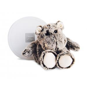 Histoire d'ours - HO2575 - Boulidoux - hippo petit modèle - 20 cm - boîte cadeau (305966)