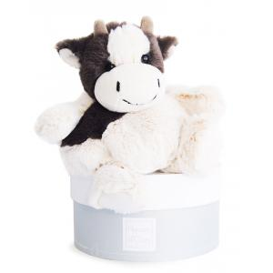 Histoire d'ours - HO2583 - Boulidoux - vache moyen modèle - 25 cm - boîte cadeau (305972)