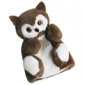 Histoire d'ours - HO2590 - Douce marionnette - chouette (306130)