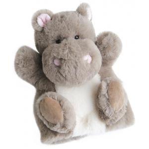 Histoire d'ours - HO2592 - Douce marionnette - hippo - 25 cm (306132)