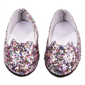 Gotz - 3402715 - Chaussures ballerina, glittery cat - 45 - 50 cm (306282)