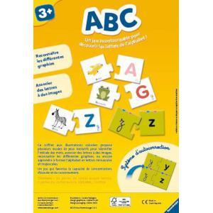 Ravensburger - 24042 - Jeux éducatifs - ABC   - 3 ans + (306462)