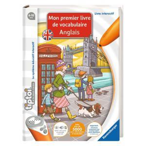 Ravensburger - 00670 - Jeux éducatifs Tiptoi - Mon premier livre de vocabulaire anglais (306490)